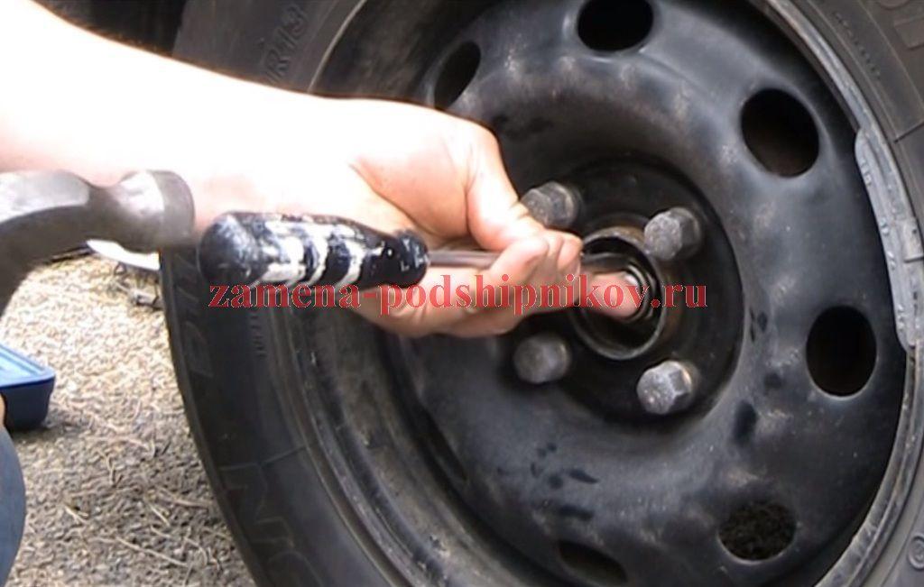 Гайка на заднюю ступицу ford focus 1 диаметр