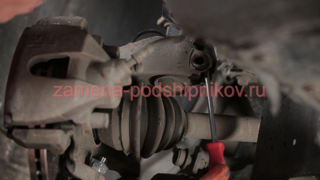 Замена переднего амортизатора форд фокус 3 своими руками 93