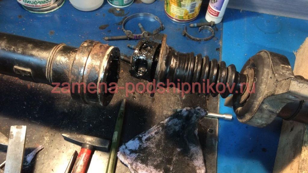 Как поменять подвесной кардана подшипник киа спортейдж 126
