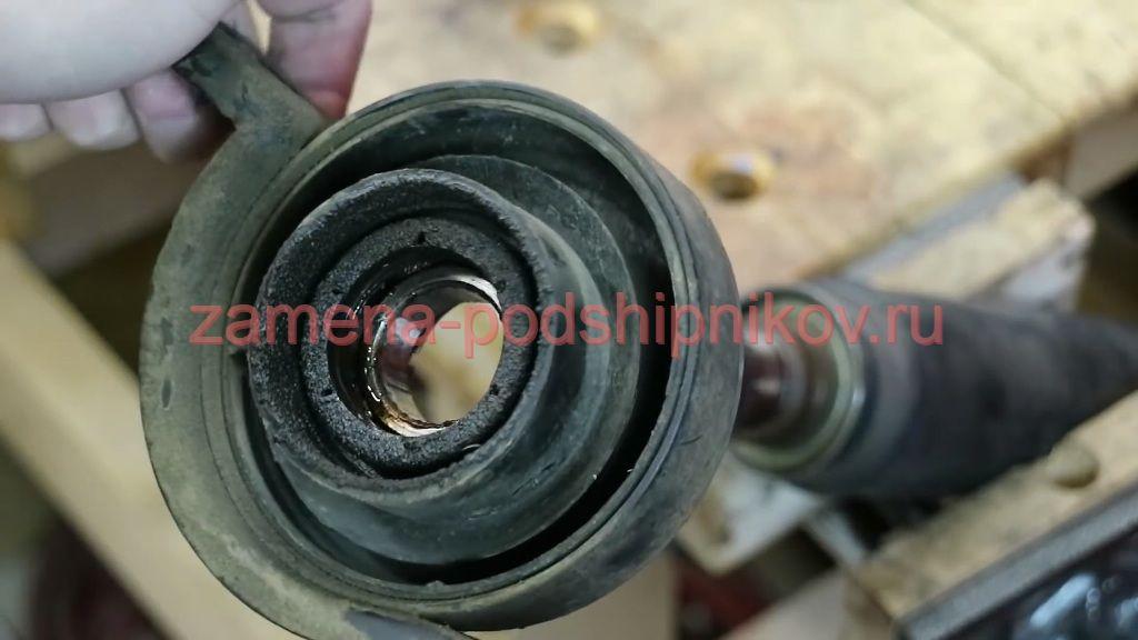 Как поменять подвесной кардана подшипник киа спортейдж 187