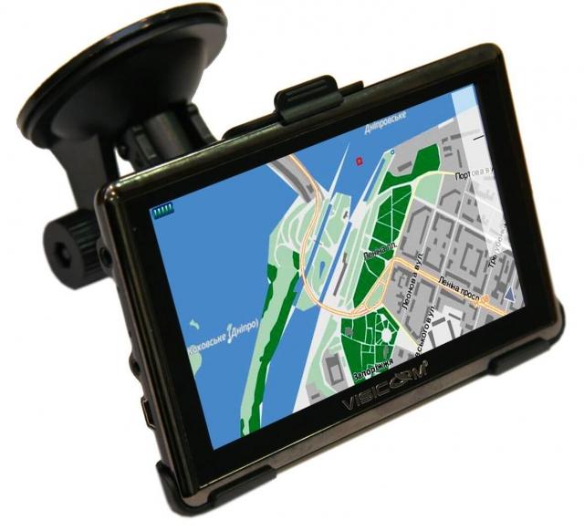 GPS навигатор с видеорегистратором