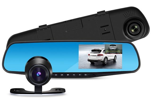 Видеорегистратор-зеркало вида CAR DVR MIRROR