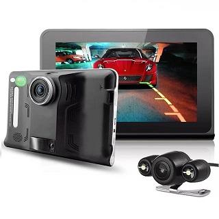 Автомобильный видеорегистратор - планшет на Android
