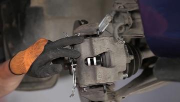 суппорт тормозной системы Opel Astra H