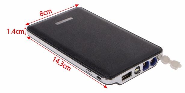 размеры портативного зарядного устройства CHARGER