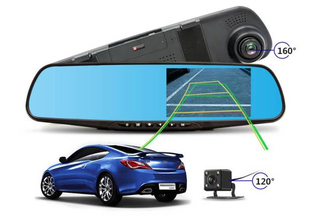 Парктроник CAR DVR MIRROR