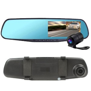 CAR DVD MIRROR с антирадаром и GPS