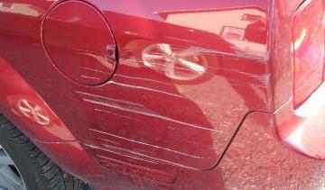 Как убрать глубокие царапины с корпуса автомобиля