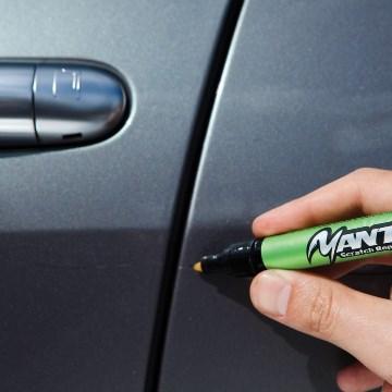 Корректор для царапин на корпусе авто