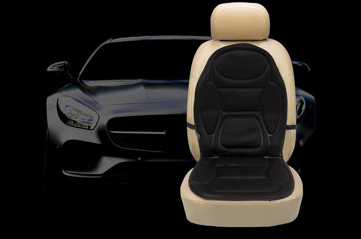 Накидка на сиденье автомобиля с подогревом обзор