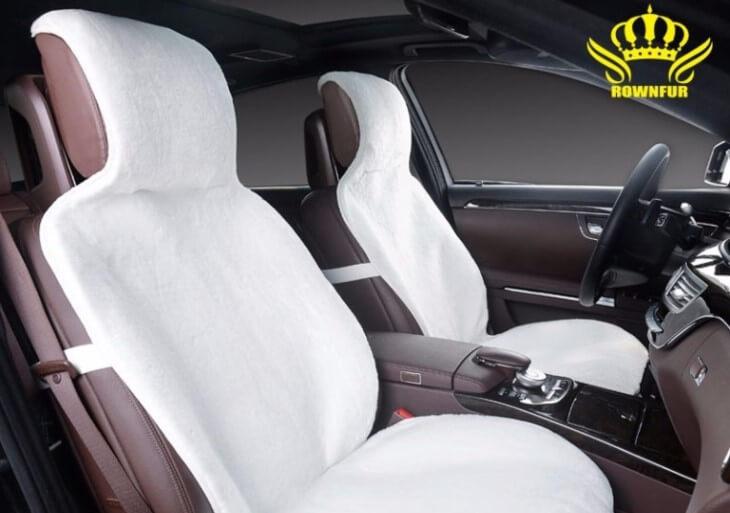 Лучшие накидки на сиденья автомобиля из натурального меха