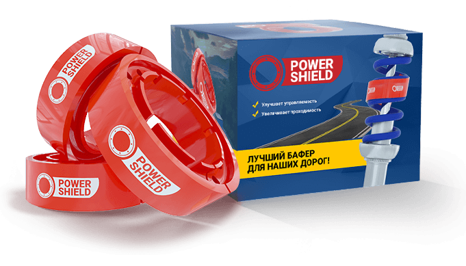 Автобафер Power shield
