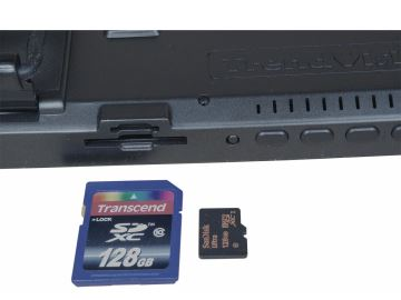 TrendVision MR-710 - разъем для карты памяти