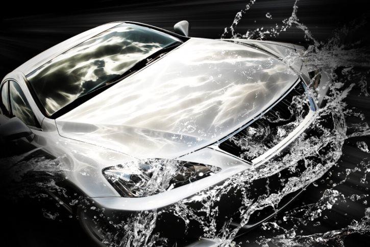 покрытие автомобиля жидким стеклом