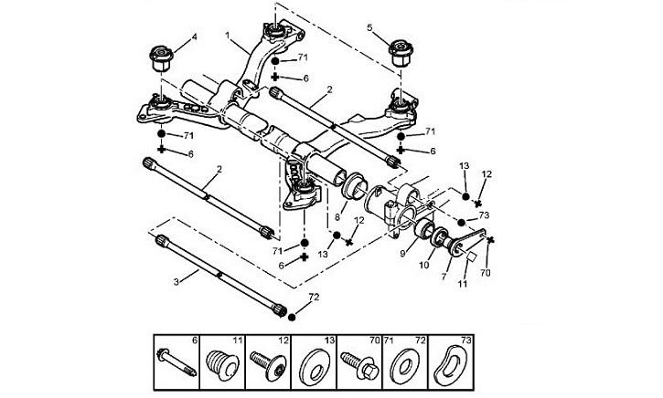 Задняя подвеска пежо 207 ремонт своими руками