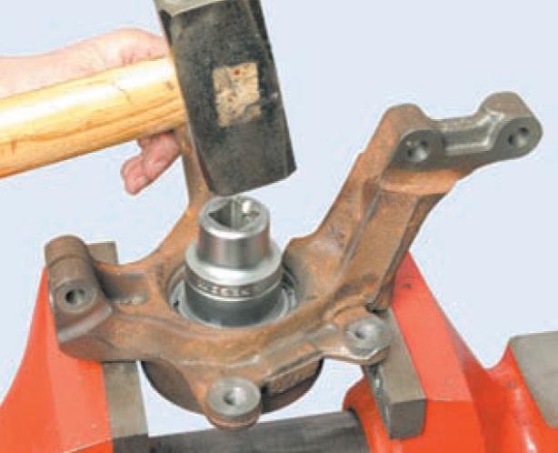 Замена ступицы на логане своими руками
