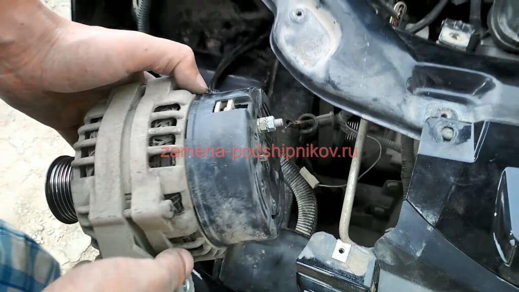 Ремонт генератора приора с кондиционером своими руками 89