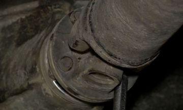 Демонтаж карданного вала ВАЗ 2107