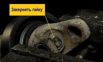 Гайка шарнира карданного вала ВАЗ