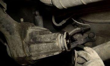 Снятие кардана ВАЗ 2107