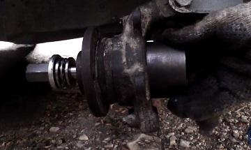 Замена переднего ступичного подшипника ваз 2109
