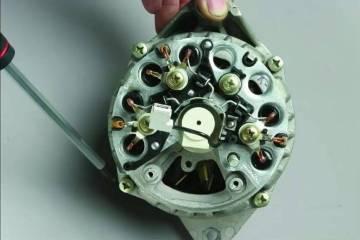 Разбираем генератор Ваз 2110