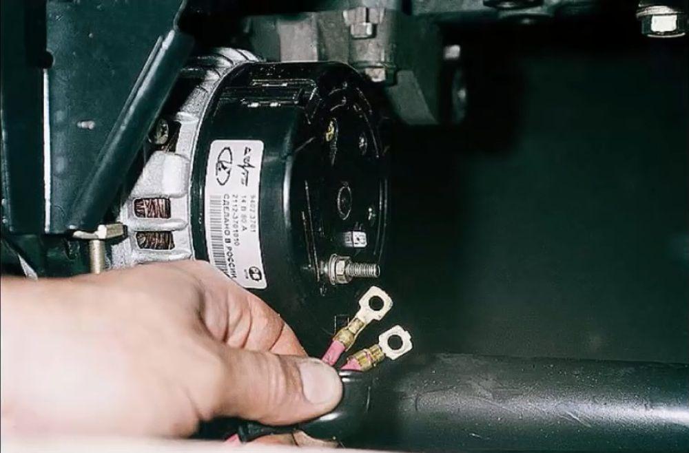 генератора на перепутаны ваз2115 провода