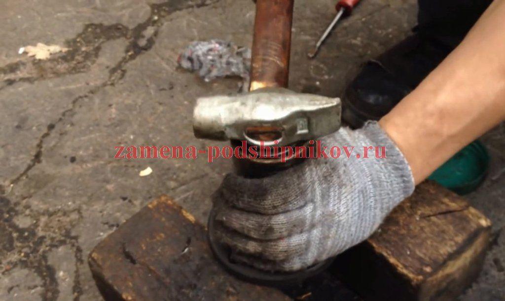 Видео замена ступичного подшипника ваз 2114 своими руками видео